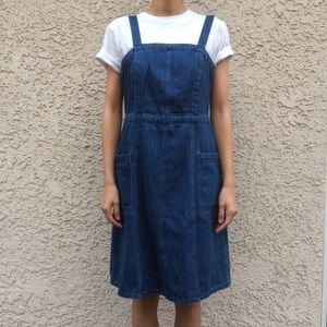 NWT Gap Sleeveless Denim Dress